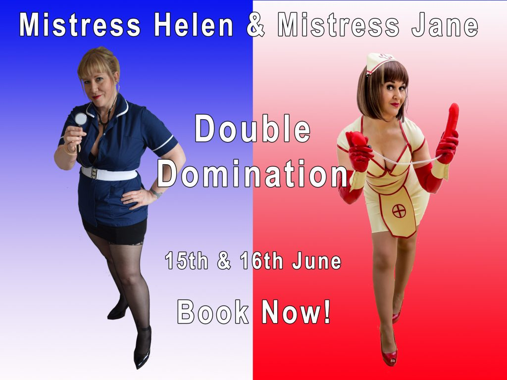 Double Domme Nurse poster